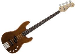 DISC Fender Modern Player Jazz Bass Guitar RW, Satin 2-Color Sunburst