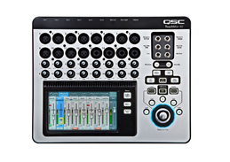 QSC TouchMix 16 Compact Digital Mixer with Free Recording Hard Drive